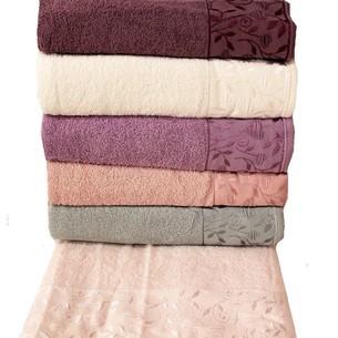 Набор полотенец для ванной 6 шт. Miss Cotton ESMA хлопковая махра 70х140