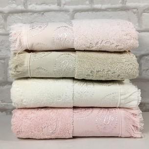 Набор полотенец для ванной 4 шт. Miss Cotton FAVORITE хлопковая махра 70х140