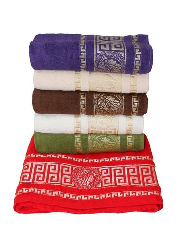 Набор полотенец для ванной 6 шт. Miss Cotton GREEK хлопковая махра 70х140, фото, фотография