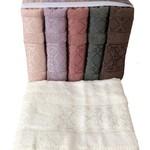 Набор полотенец для ванной 6 шт. Miss Cotton SIRMA хлопковая махра 50х90, фото, фотография