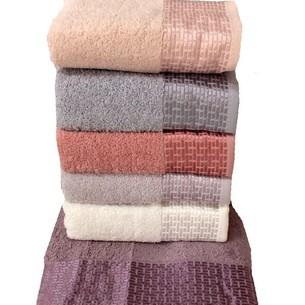 Набор полотенец для ванной 6 шт. Miss Cotton TUANA хлопковая махра 70х140