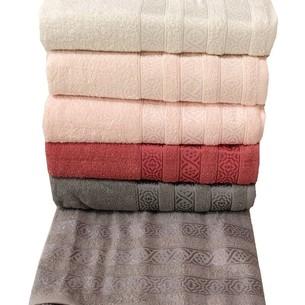 Набор полотенец для ванной 6 шт. Miss Cotton VERA хлопковая махра 70х140