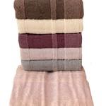 Набор полотенец для ванной 6 шт. Miss Cotton VIKTORIA хлопковая махра 50х90, фото, фотография