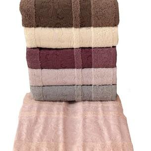 Набор полотенец для ванной 6 шт. Miss Cotton VIKTORIA хлопковая махра 50х90