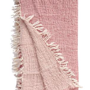 Полотенце пештемаль для пляжа, сауны, бани Begonville JEWEL хлопок pink 90х180