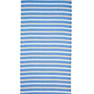 Полотенце пештемаль для пляжа, сауны, бани Begonville BREEZE BERYL хлопок blue 90х180