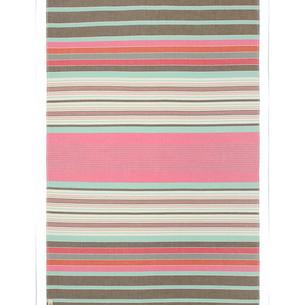Полотенце пештемаль для пляжа, сауны, бани Begonville MODAL SIDELINES хлопок pink 90х180