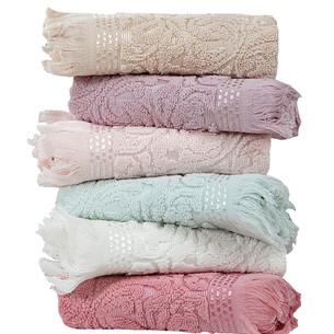 Набор полотенец для ванной  6 шт. Karna ESRA махра хлопок 40х60