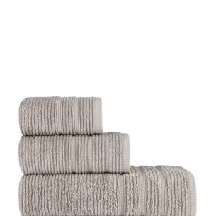 Полотенце для ванной Karna KOLMAR хлопковая махра бежевый 70х140
