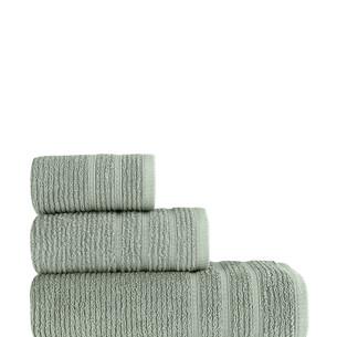 Полотенце для ванной Karna KOLMAR хлопковая махра хаки 50х90