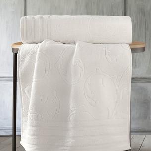Полотенце для ванной Karna NEVA хлопковая махра натурал 50х90