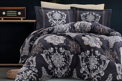 Постельное белье Ecosse SATIN HERMES хлопковый сатин 1,5 спальный, фото, фотография
