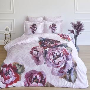 Постельное белье Soft Cotton ALIANA тенсель розовый евро