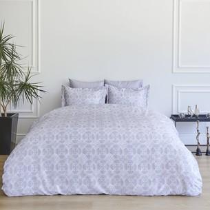 Постельное белье Soft Cotton MARCELLA тенсель серый евро-макси