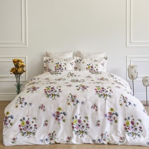 Постельное белье Soft Cotton NOVELLA тенсель кремовый евро-макси