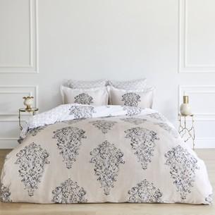 Постельное белье Soft Cotton PERENNA тенсель светло-бежевый евро