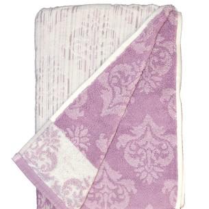 Набор полотенец для ванной 6 шт. Ozdilek GISELLE хлопковая махра лиловый 50х90
