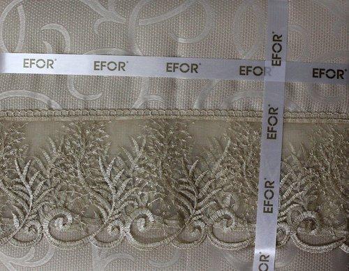 Скатерть прямоугольная Efor MELISA жаккард белый 160х300, фото, фотография