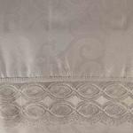 Скатерть прямоугольная Efor MILA жаккард белый 160х260, фото, фотография