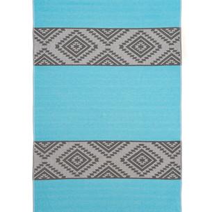Полотенце пештемаль для пляжа, сауны, бани Begonville COTTON ARCHIE хлопок turquoise 100х180