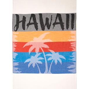Полотенце пештемаль для пляжа, сауны, бани Begonville COTTON HAWAII хлопок 100х180