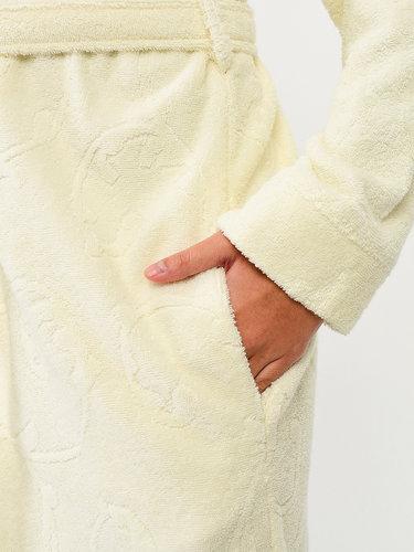 Халат женский Karna NEVA хлопковая махра натурал XL, фото, фотография