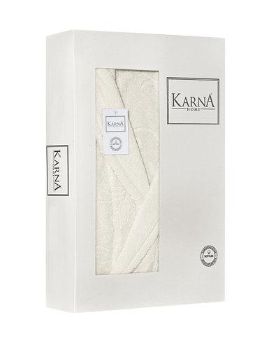 Халат женский Karna NEVA хлопковая махра натурал L, фото, фотография