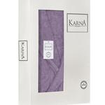 Халат женский Karna NEVA хлопковая махра сиреневый XL, фото, фотография