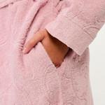 Халат женский Karna NEVA хлопковая махра светло-лавандовый XL, фото, фотография
