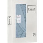 Халат женский Karna NEVA хлопковая махра ментол XL, фото, фотография
