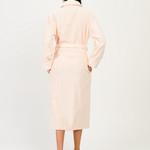 Халат женский Karna NEVA хлопковая махра абрикосовый XL, фото, фотография