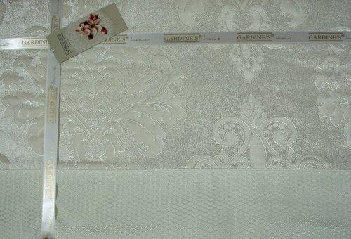Покрывало Gardine's DIVA жаккард кремовый 240х260, фото, фотография