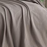 Покрывало Saheser VERA хлопок коричневый 220х240, фото, фотография