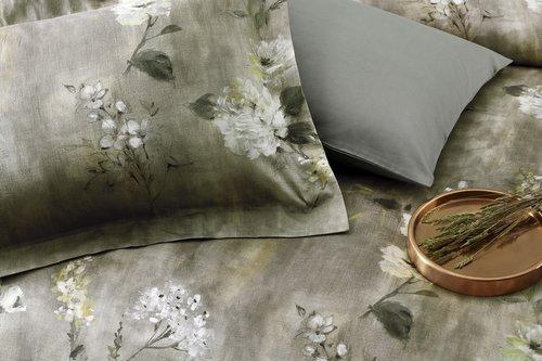 Постельное белье Tivolyo Home MARIETTA хлопковый сатин делюкс евро, фото, фотография