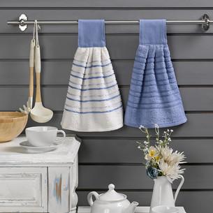 Набор кухонных полотенец 2 шт. Karna LIMBO хлопковая махра V4 30х30