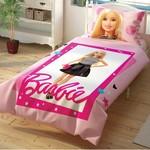 Детское постельное белье TAC BARBIE CEK хлопковый ранфорс 1,5 спальный, фото, фотография