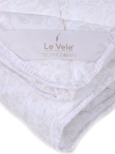 Одеяло Le Vele PERLA микроволокно/микрофибра кремовый 195х215, фото, фотография