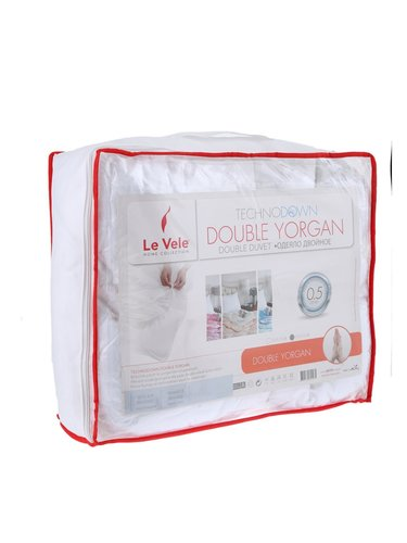 Одеяло двойное Le Vele DOUBLE микроволокно/микрофибра 195х215, фото, фотография