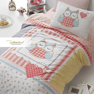 Детское постельное белье Istanbul Home Collection GENC RANFORCE LU LU хлопковый ранфорс 1,5 спальный