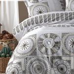 Постельное белье Istanbul Home Collection RANFORCE HOLLY хлопковый ранфорс кофейный евро, фото, фотография