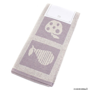 Кухонное полотенце Tivolyo Home FRUITY хлопок лиловый 50х70