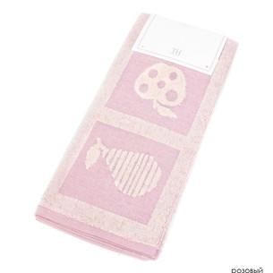 Кухонное полотенце Tivolyo Home FRUITY хлопок розовый 50х70