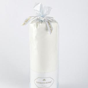 Набор наволочек 2 шт. Tivolyo Home хлопковый сатин делюкс молочный 70х70