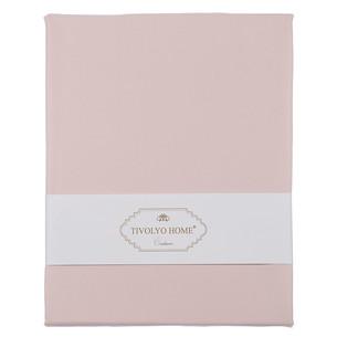 Набор наволочек 2 шт. Tivolyo Home хлопковый сатин делюкс розовый 70х70
