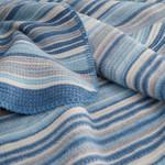 Плед Karna RAINBOW голубой 130х170, фото, фотография