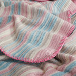 Плед Karna RAINBOW грязно-розовый 130х170, фото, фотография