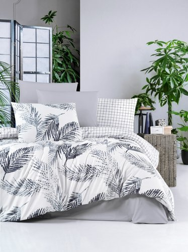 Постельное белье Ecosse RANFORCE TROPICAL хлопковый ранфорс 1,5 спальный, фото, фотография