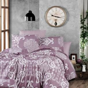 Постельное белье Ecosse RANFORCE VANESSA хлопковый ранфорс лиловый семейный