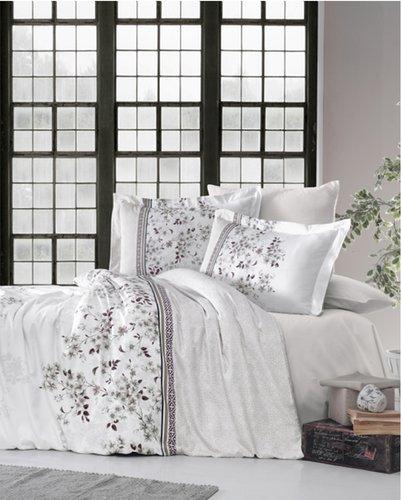 Постельное белье Ecosse SATIN BELISSA хлопковый сатин 1,5 спальный, фото, фотография