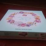 Постельное белье TAC HAPPY DAYS EZRA хлопковый ранфорс пудра 1,5 спальный, фото, фотография